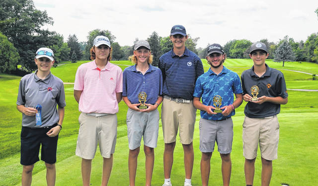 Spencer Keller led a crew of Galion High School golfers to success at the Heart of Ohio Junior Association tournament on Monday, July 19, 2021, at Valley View Golf Course. Tigers who competed in the tournament included Bronson Dalenberg, Nick McMullen, Logan Keller, Nate McMullen, and Carson Walker.