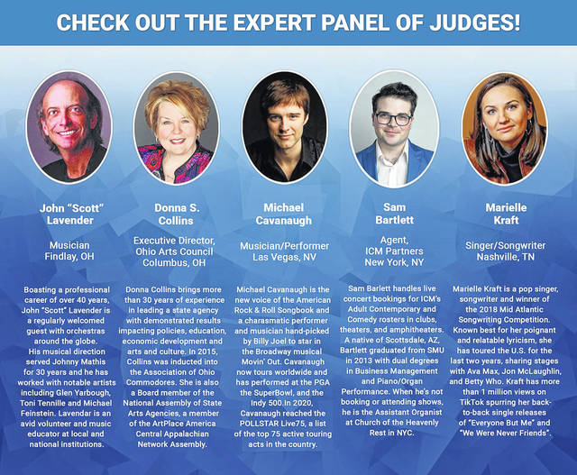 Here are the biographies of the judges for the 419 Sings competition.