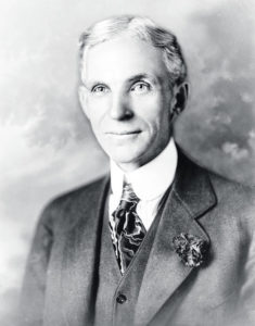 Gill House to mark Henry Ford's birthday