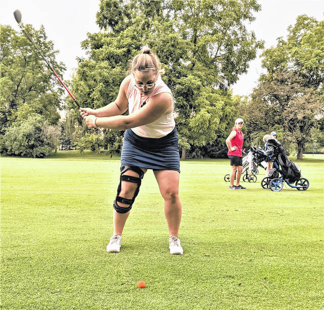 Galion's Ellexia Ratcliff shot a round of 65 for the Lady Tigers against Pleasant on Monday, Aug. 16 at the Marion Country Club. The Lady Spartans won the match, 178-227.