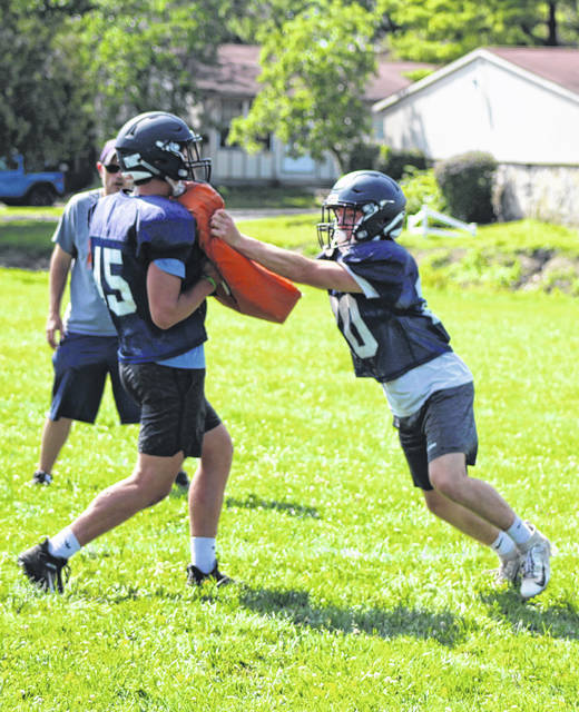Galion High School football players are counting down the days until Week 1 of the 2021 season. The Tigers hit the field for their first practice of August on Monday at Heise Park. Galion's season opening game is scheduled for Friday, Aug. 20 at Elgin.