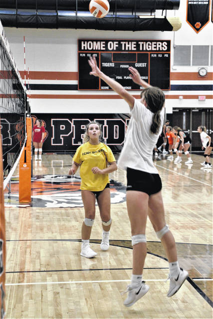 The Galion High School volleyball team is preparing for the 2021 season. New Head Coach Kathleen Scott has been putting the ballclub through its paces this summer. She said she's been pleased with the team so far and is looking forward to the new season.