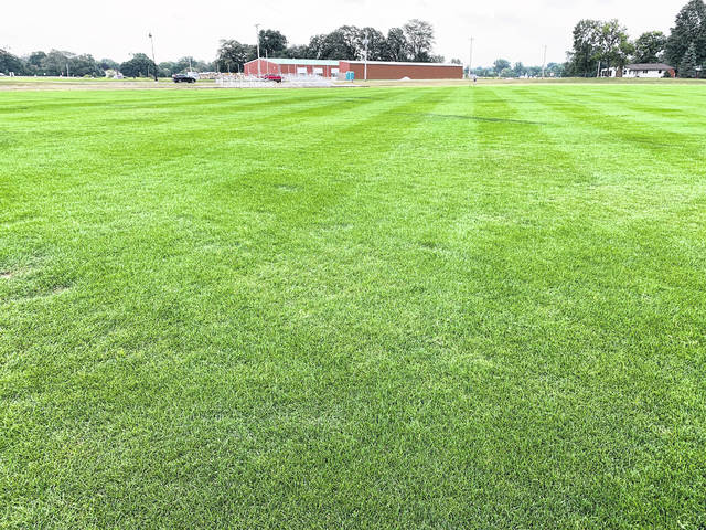 The new Galion City Schools soccer complex will be ready for play when the 2021 season opens, according to Athletic Director Kyle Baughn. The complex features bleacher seating and is located on the west side of the school campus adjacent to the middle school parking lot.