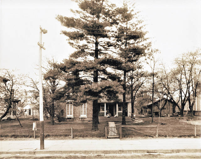 The original Bloomer residence was built in 1850. It was located on South Market Street where the parking area for the Richardson-Davis Funeral Home is located.