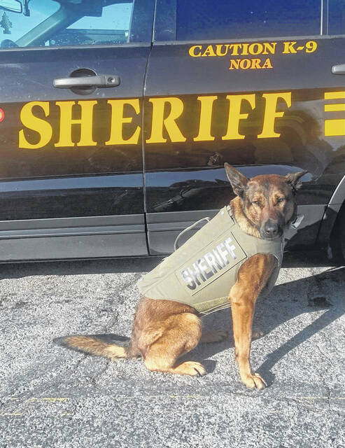 Crawford County Sheriff's Office K9 Nora is the recipient of a Healthcare for K9 Heroes Grant from Vested Interest in K9s, Inc., a 501c(3) nationwide charity located in East Taunton, Massachusetts. The charity's mission is to provide bullet and stab protective vests and other assistance to dogs of law enforcement and related agencies throughout the United States.