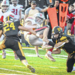 Football: Knights build early lead, top Freddies for 6th victory