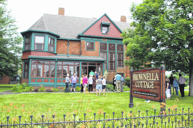 Brownella Cottage will be the hub of activity during October with a ghost walk planned for Oct. 22, a paranormal investigation scheduled for Oct. 30, and trick-or-treat on Oct. 31. For information, call the Galion History Center office at 419-468-9338 or email galionhistory@gmail.com.