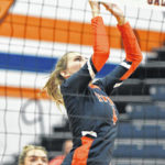 Volleyball: Vikings sweep Tigers in MOAC finale