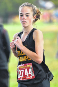 Cross country: Colonel Crawford girls claim second straight district championship