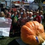 First graders have special encounter with a great pumpkin