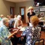 Friendliness in Butler, at Crossroads Cafe
