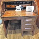 Dr. Buker's desk comes home to Bellville … in a gift donation to museum