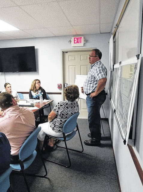 Louise Swartzwalder | Bellville Star Village council is moving ahead with plans to make changes in local sewer and water fees. Council members also heard details about a proposed expansion to the cemetery.