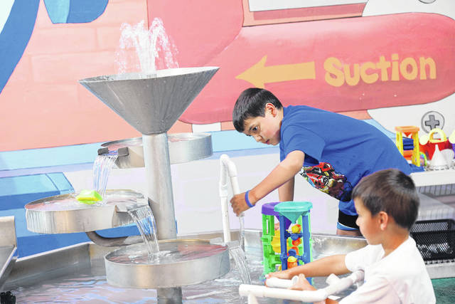 Courtesy photo The Little Buckeye Children's Museum has launched a new program, Museums for All, sponsored by Richland Bank.