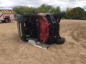 Don't forget safety when operating UTVs