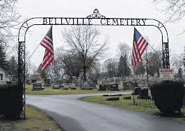 File photo The Bellville Jefferson Township Historical Society and the Bellville branch of the Mansfield Public Library are sponsoring a cemetery walk from 10 a.m. to 1 p.m. Saturday, Oct. 13.