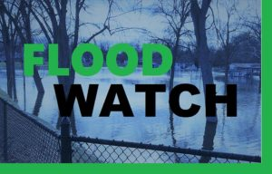 Flood watch through early Thursday; return of cold weather could lead to icy conditions