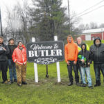A welcome addition: Michael Ebert's scout project bids welcome to Butler visitors