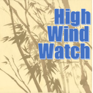 High wind watch Sunday morning through Monday morning