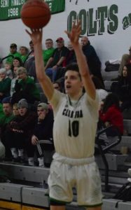 Colts knock off Harding to clinch share of MOAC