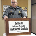 Bellville police chief speaks to Bellville Jefferson Township Historical Society