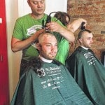 Going bald for a good cause