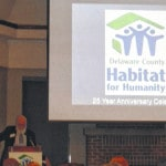 Habitat hammers for 25 years