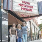 A red carpet premiere for Photovoice project