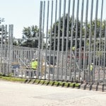 Conger Elementary School gets walls for new addition