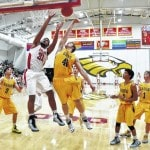 Barons bounce back against Eagles