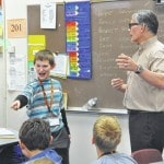 Willis students get a guest teacher for a lesson on poetry