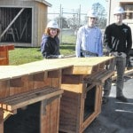 DACC students give back to community with doghouse project