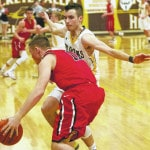 Fast start sends Barons over Spartans
