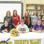 Signees' time to shine