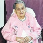 Mildred Irwin turns 100 Friday