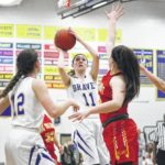 Braves finish strong in win over Eagles