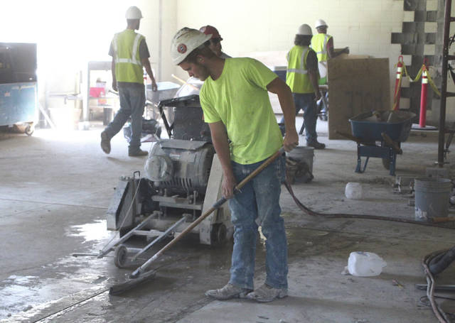 "Construction and renovation work continues at Buckeye Valley East Elementary School in Ashley as faculty and staff prepare for the opening of the 2017-2018 academic year. According to the Buckeye Valley Local Schools website, ""Under Construction: Building Our Future"" is the theme for the upcoming year at BV East Elementary. School officials are asking students to dress in work gear for the first day of school on Thursday, Aug. 17. Temporary classroom trailers have been placed on the east side of the building."
