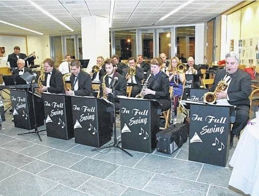 Columbus-based big band In Full Swing will perform Thursday during the next installment of the Preservation Parks Concerts in the Park series. Showtime is 7 p.m. at Gallant Woods Park, located at 2151 Buttermilk Hill Road in Delaware.