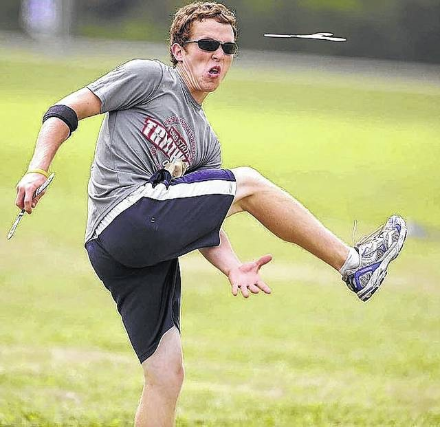 Ohio's own Logan Broadbent, a standout for world champion Team USA, will be among the pros in action at Saturday's 38th annual Free Throwers Boomerang Tournament at Smith Park in Delaware.