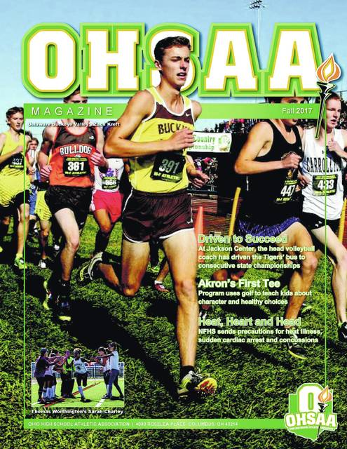 Buckeye Valley senior Zach Kreft is featured on the cover of the upcoming edition of OHSAA Magazine, which is due out next week.