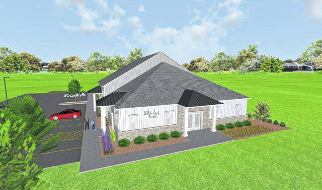 Pictured is an artist's rendering of Beatz Studio, a new fitness center to be built at 80 Clairedan Drive in Powell. City Council approved the studio's combined preliminary and final development plans on Tuesday.