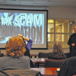 Police warn about scam artists