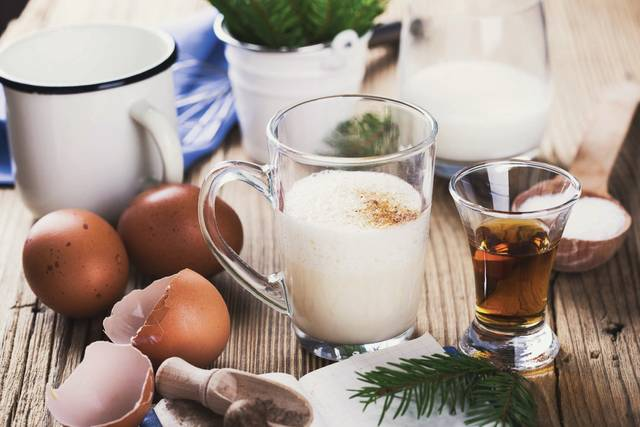 If you purchase eggnog from the grocery store, you can typically expect that it has been pasteurized to eliminate Salmonella, meaning that it has been heat-treated to kill harmful microorganism. To be sure, you can check the label or ask a clerk if the product is pasteurized.