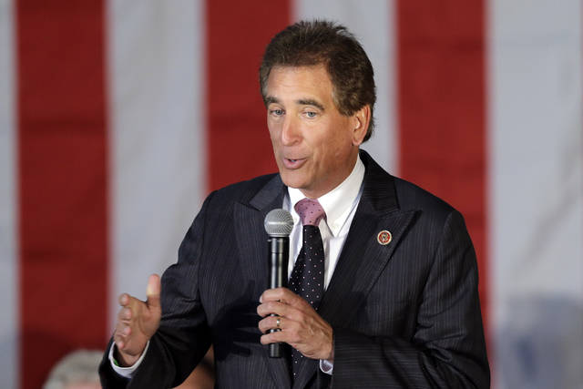 Rep. Jim Renacci, R-Ohio, is jumping out of the Republican governor's race and into the U.S. Senate primary. The fourth-term congressman announced his plans Thursday in a letter to supporters. The businessman and former Wadsworth mayor earlier said he'd make that move if he got encouragement from President Donald Trump, who carried the swing state in 2016.