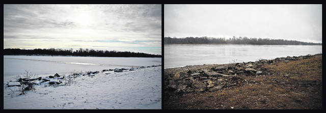 You say you don't like the weather in Ohio? Just wait. The photo on the left shows Delaware Lake on the morning of Wednesday, Jan. 3, frozen over as temperatures dipped well below freezing. The photo on the right — taken in the same location on the shoreline at Delaware State Park — shows Delaware Lake on Thursday morning with temperatures in the lower 50s. Central Ohio is under a winter weather advisory through Saturday morning. National Weather Service forecasters are calling for a wintry mix of precipitation, including the possibility of 2 to 4 inches of snow Friday evening. Columbus area meteorologists are predicting 3 to 6 inches of snow. Weekend high temperatures are projected to drop into the teens.