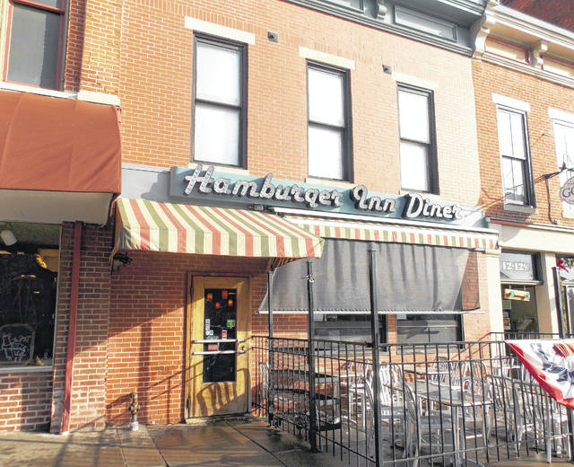 The City of Delaware's Downtown Facade Improvement Program has assisted a number of downtown property owners with improvements to their buildings over the years. The home of the Hamburger Inn Diner, 16 N. Sandusky St., is one of the buildings that has benefited from the program by helping to cover some of the costs associated with removal of stucco, old windows, and other applications that weren't original to the structure.