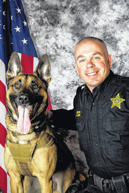 Cash and his partner, Deputy Troy Gibson.