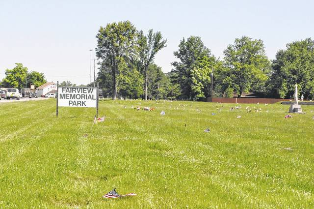 Pictured in this file photo from summer 2017 is Fairview Memorial Park.