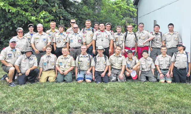Big Walnut Boy Scout Troop 701.