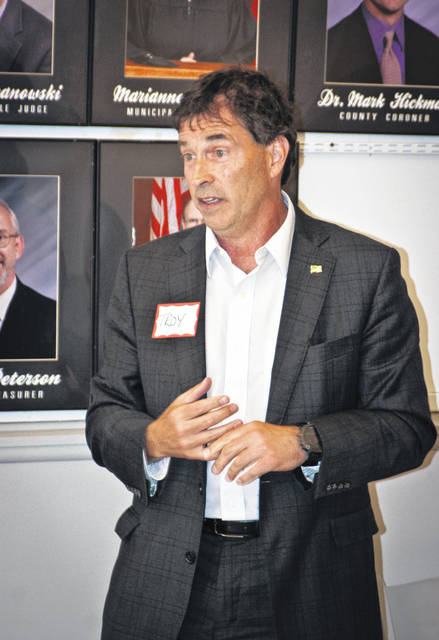 "Troy Balderson, the Republican nominee for Ohio's 12th Congressional District, told the Delaware County Republican Women's Club on Wednesday evening that the GOP win for the congressional seat will come from Delaware County, but he needed their support. He told the group that this is where the numbers are, but ""The National Democratic Party is coming after us."""